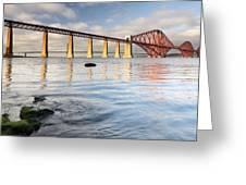 Forth Railway Bridge Greeting Card