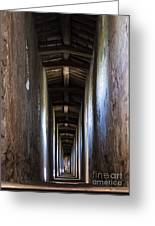 Fortified Covered Walkway Greeting Card