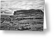 Fortress Aran Islands Greeting Card