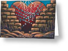 Fortress Around Your Heart Greeting Card