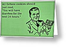 Fortune Cookie Truth Greeting Card
