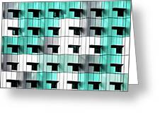 Forty Windows Greeting Card