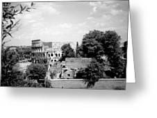 Forum Romanum Rome Italy Greeting Card