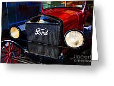 Forvorite Model T Greeting Card