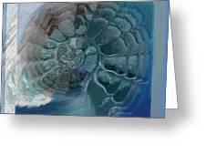 Fossil Ocean Greeting Card