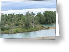 Fossil Prairie Panoramic Greeting Card