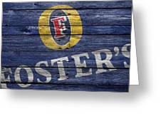 Fosters Greeting Card