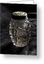 Found  Salt Shaker Greeting Card by   Joe Beasley