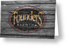 Founders Brewing Greeting Card