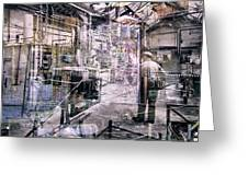 Foundry Workers Greeting Card