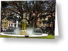 Fountain Alicante Greeting Card