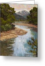 Fountain Creek Greeting Card