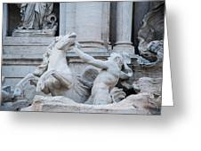 Fountain Di Trevi Greeting Card