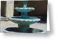 Fountain In Ecija Greeting Card