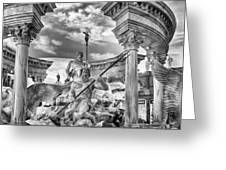 Fountain Of The Gods Greeting Card