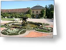 Fountain - Orangery - Belvedere Greeting Card