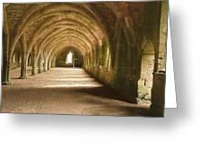 Fountain's Abbey Cellarium Greeting Card