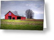 Four Corners Quilt Barn Greeting Card