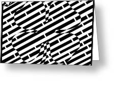 Four Leaf Clover Maze  Greeting Card