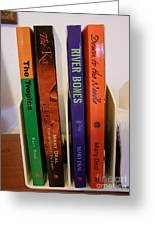 Four Of My Ten Books Published Greeting Card