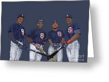 Four Tops Greeting Card