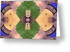 Four Towers Sigil Greeting Card