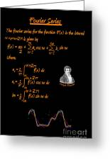 Fourier Series Greeting Card