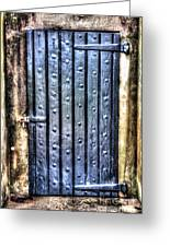 Fourt Moultrie Door Greeting Card