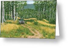Fourwheeling In Alaska Greeting Card