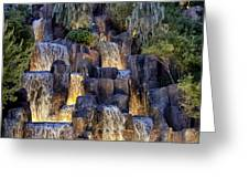 Foutains At Wynn Hotel - Las Vegas Greeting Card