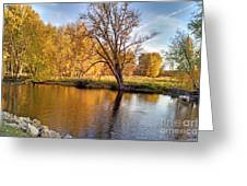 Fox River-jp2419 Greeting Card