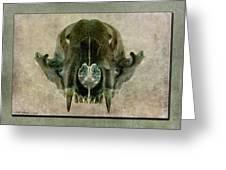 Foxbone I Greeting Card