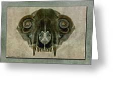 Foxbone Vi Greeting Card