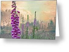 Foxglove In Washington State Greeting Card
