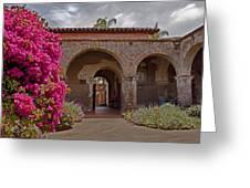 Fr. Serra Church Entrance Greeting Card