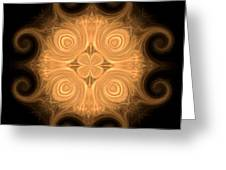 Fractal 013 - 1 Greeting Card