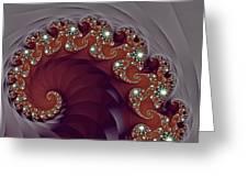 Bejeweled Tentacle Greeting Card