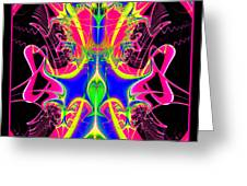 Fractal 15 Color Cacophony  Greeting Card