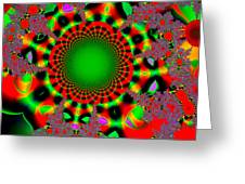 Fractal #6b Greeting Card