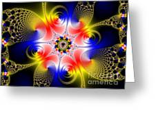 Fractal 8 Greeting Card