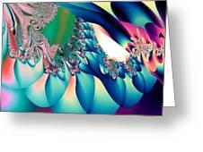 Fractal Abstract 001 Greeting Card
