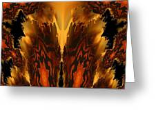 Fractal Abstract 15-01 Greeting Card