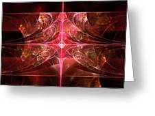 Fractal - Abstract - The Essecence Of Simplicity Greeting Card
