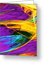 Fractal - Butterfly Wing Closeup Greeting Card