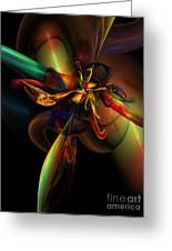 Fractal Composition Greeting Card
