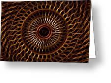 Fractal Design Greeting Card