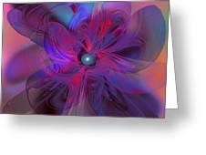 Fractal Fantasy Greeting Card