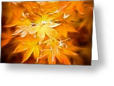 Fractal Gold 6664 Greeting Card
