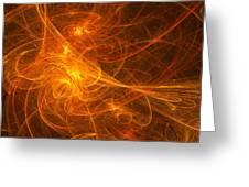 Fractal - Habanera Greeting Card