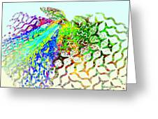 Fractal - Hummingbird Greeting Card